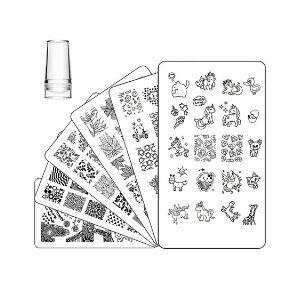 Ejiubas  Stamping Plates And Stamper Set