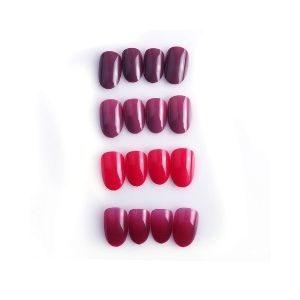 Vixi Short and Medium Natural Oval Nails